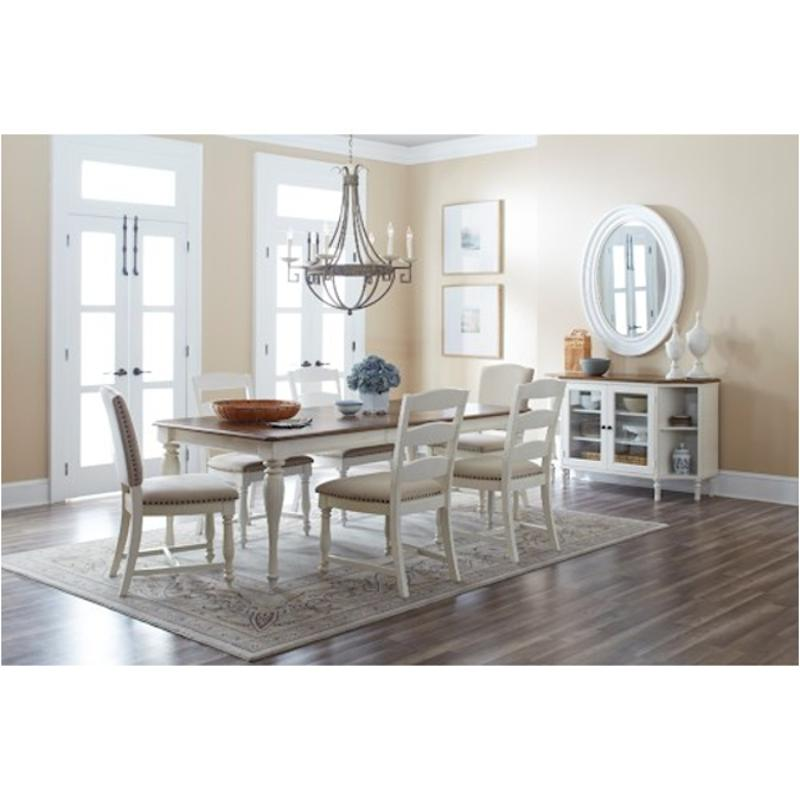 1776 84 Jofran Furniture Castle Hill   Antique White Dining Room Dining  Table