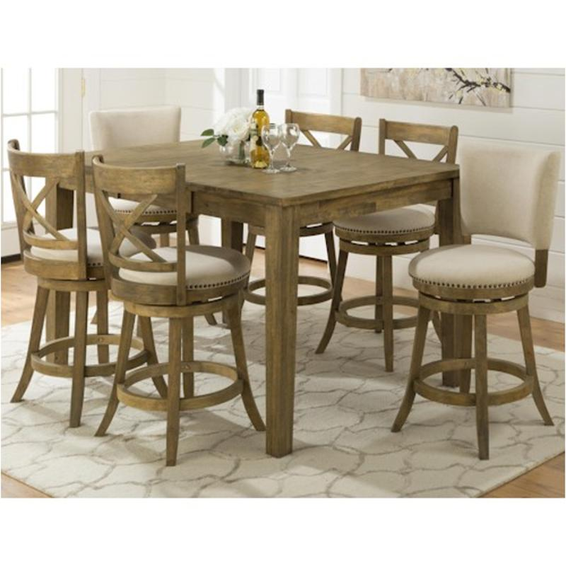 Attirant 916 60 Jofran Furniture Turners Landing Dining Room Counter Height Table