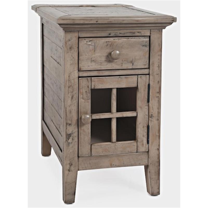 1620 22 Jofran Furniture Rustic Shores Grey End Table