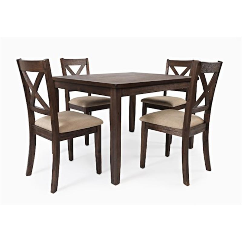 Brilliant 1875 Jofran Furniture Walnut Creek Dining Table 4 X Back Chairs With Upholstered Seat Andrewgaddart Wooden Chair Designs For Living Room Andrewgaddartcom