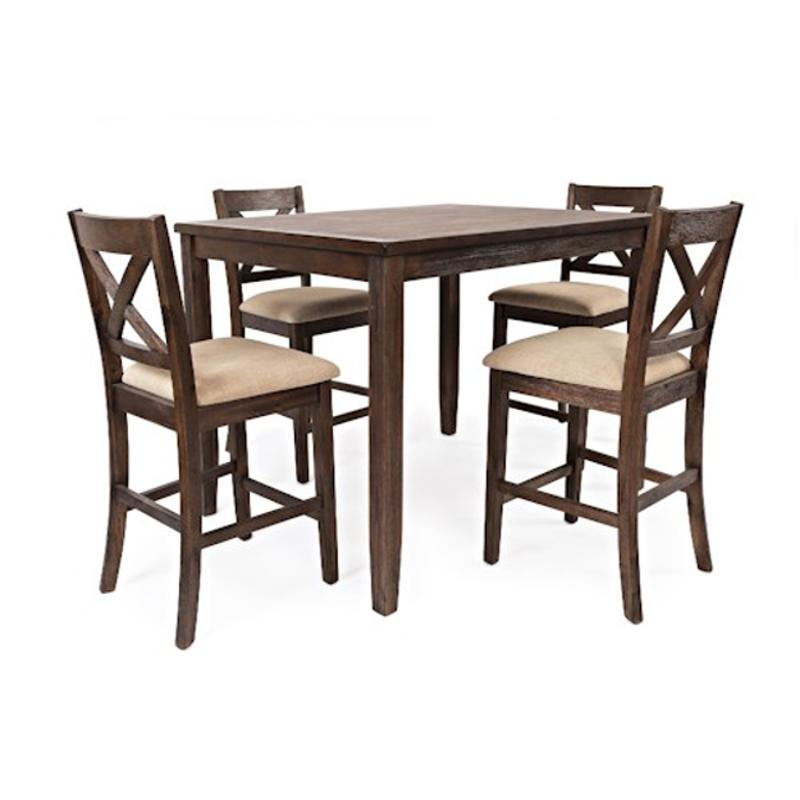 1876 Jofran Furniture Walnut Creek Dining Table
