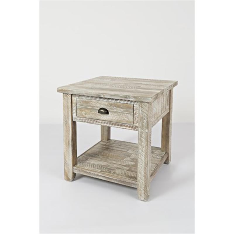 9849418a4bcb 1743-3 Jofran Furniture Artisans Craft - Grey Living Room End Table