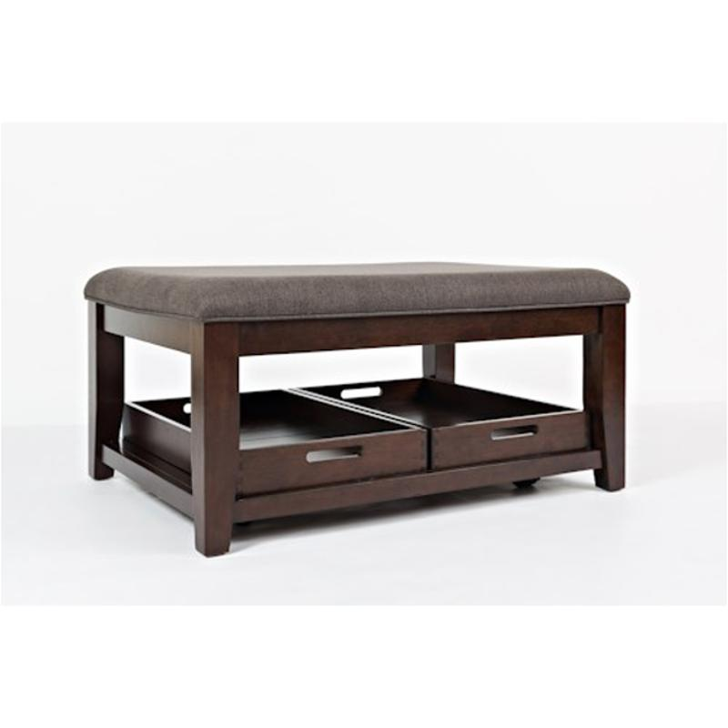 Surprising 1790 1 Jofran Furniture Twin Cities Ottoman Cocktail With Trays Elf Uph Castered Gmtry Best Dining Table And Chair Ideas Images Gmtryco