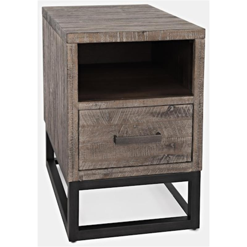 1860 7 Jofran Furniture East Hampton Chairside Table With Drawer 2 Standard And Usb Outlets