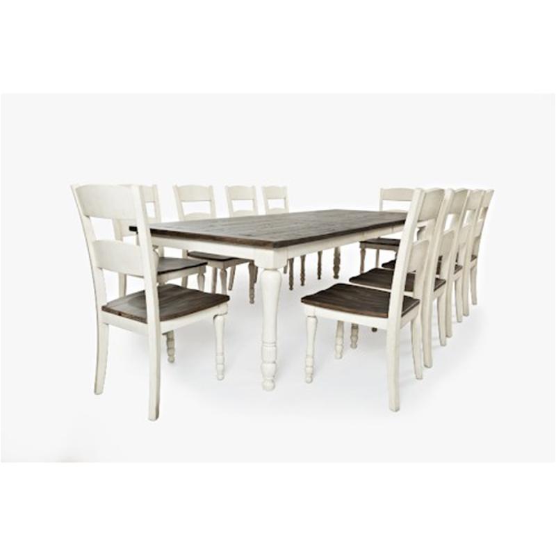 1706-106 Jofran Furniture Madison County - Vintage White Rectangular  Extension Table