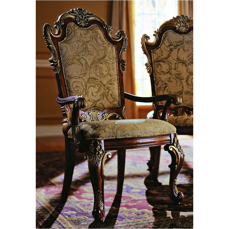 575261 Pulaski Furniture Royale Dining Room Upholstered Arm Chair