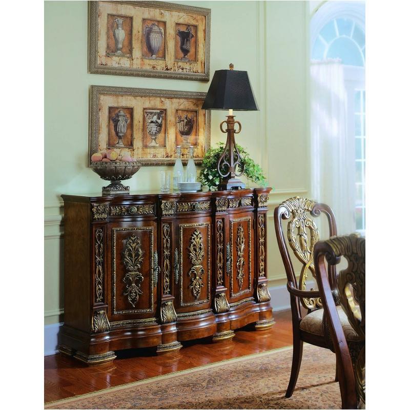 575405 pulaski furniture royale dining room credenza for Pulaski dining room furniture
