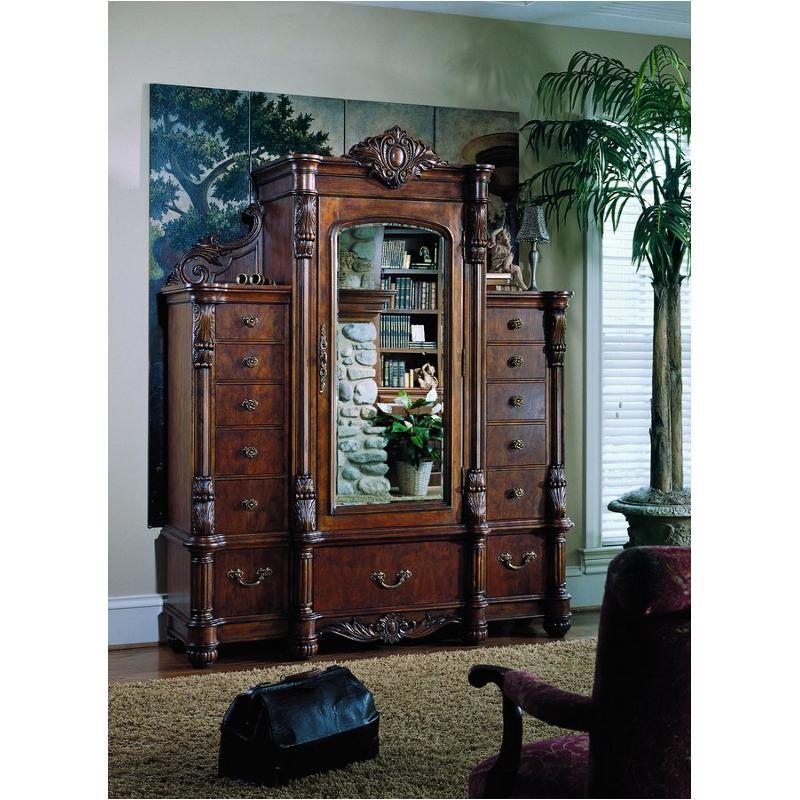 242132 Pulaski Furniture Edwardian Bedroom Mans Chest