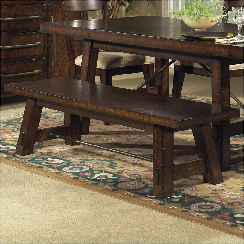 Brilliant 979400 Pulaski Furniture Calistoga Bench Machost Co Dining Chair Design Ideas Machostcouk