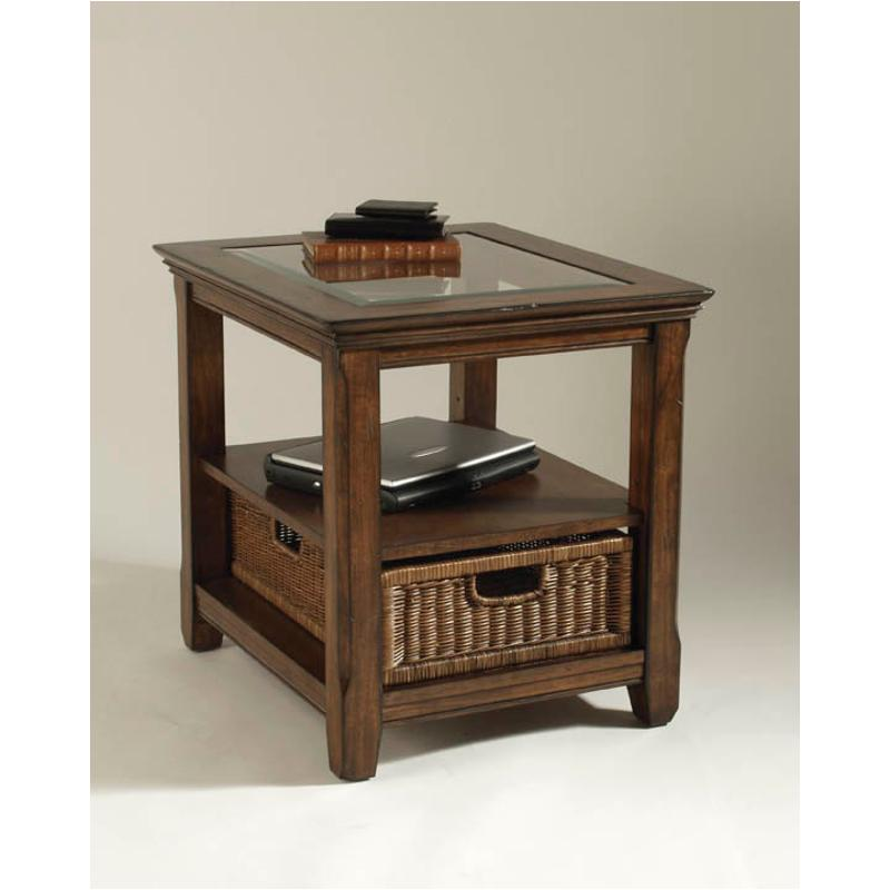 T1297-03 Magnussen Home Furniture Tanner Rectangular End Table