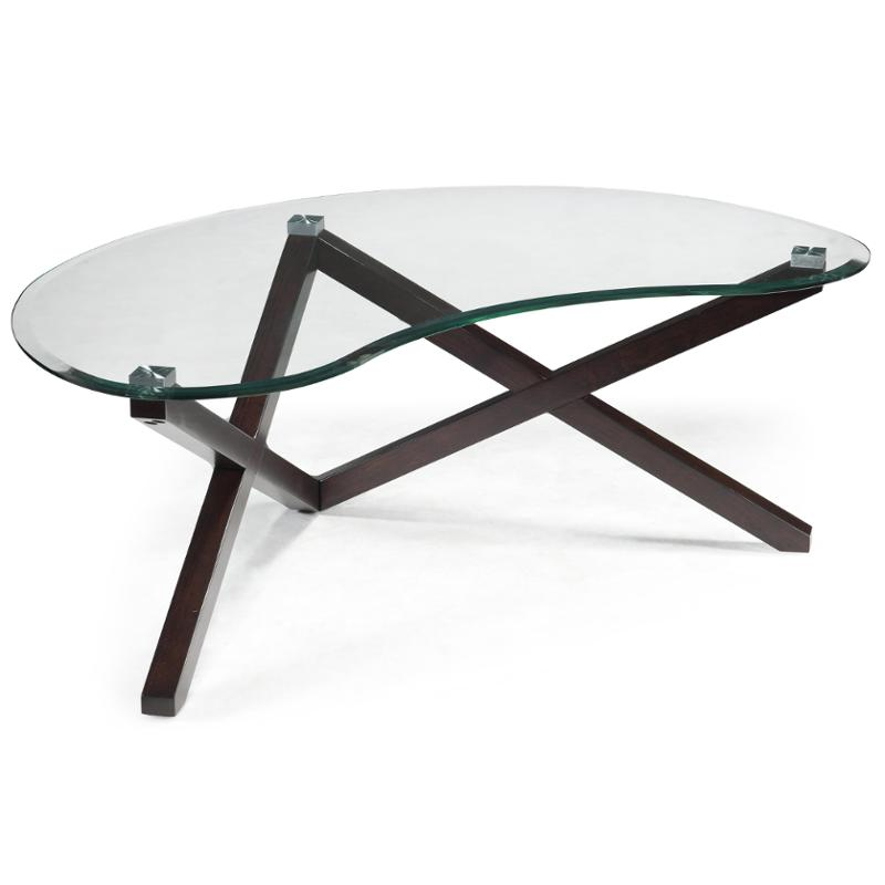 T2282 62t Magnussen Home Furniture Visio Living Room Cocktail Table