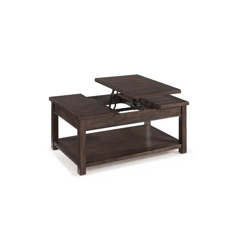 T2741 51 Magnussen Home Furniture Clayton Living Room Cocktail Table