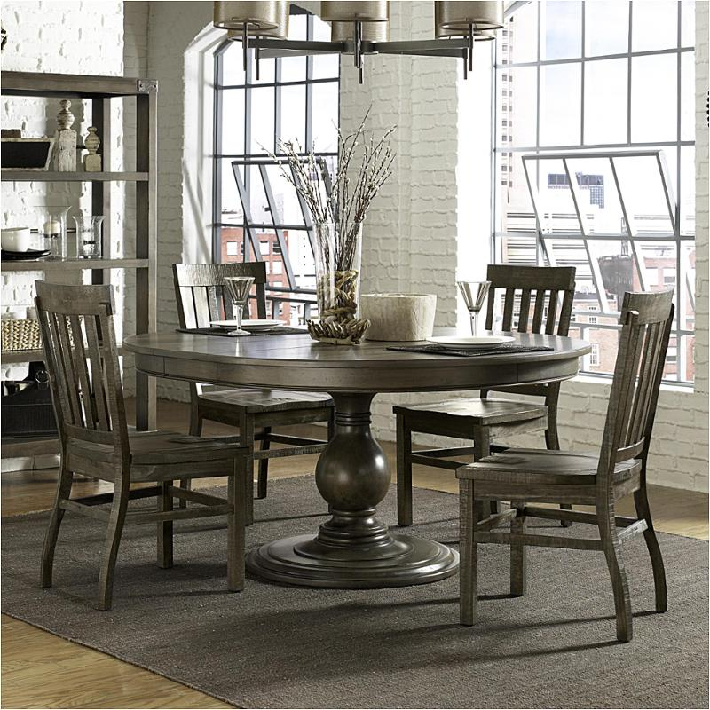 D4848t Magnussen Home Furniture Karlin Round Dining Table Adorable Magnussen Dining Room Furniture