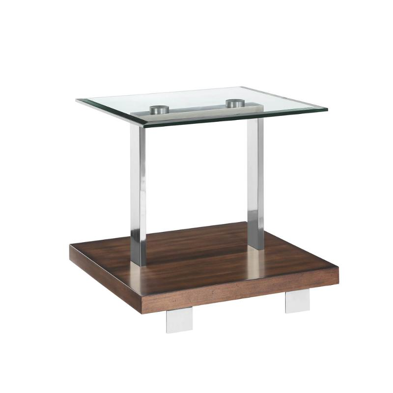 T3509-03t Magnussen Home Furniture Rectangular End Table