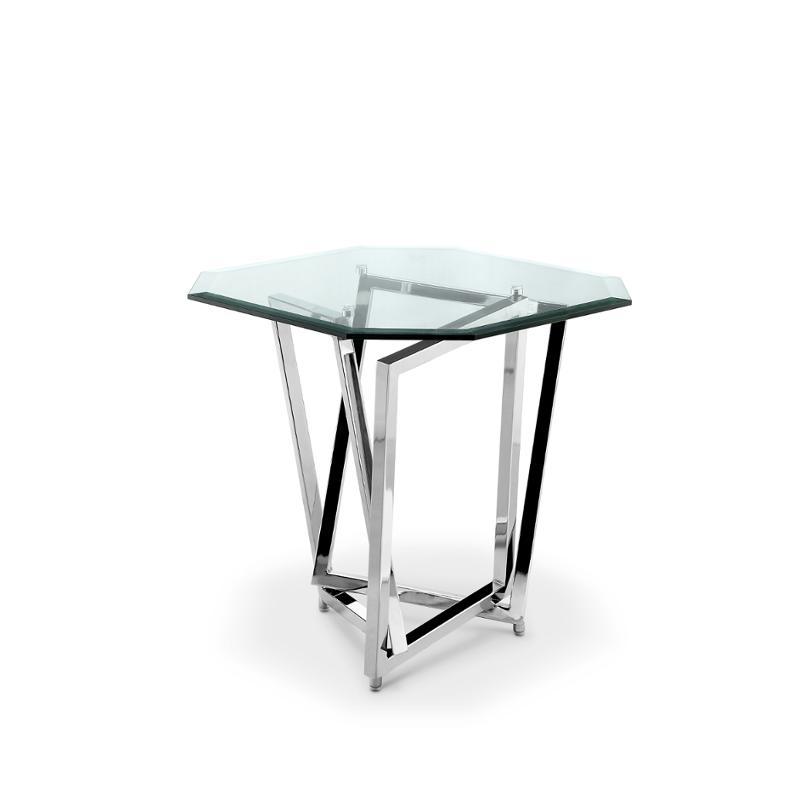 T3790 09t Magnussen Home Furniture Lenox Square Living Room End Table