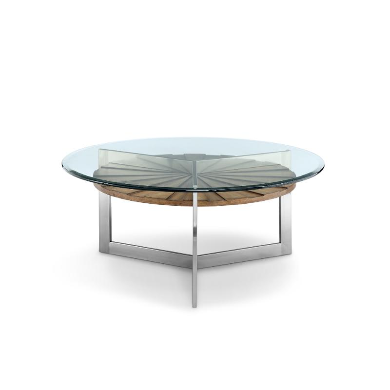 t3805 45 magnussen home furniture rialto round cocktail table
