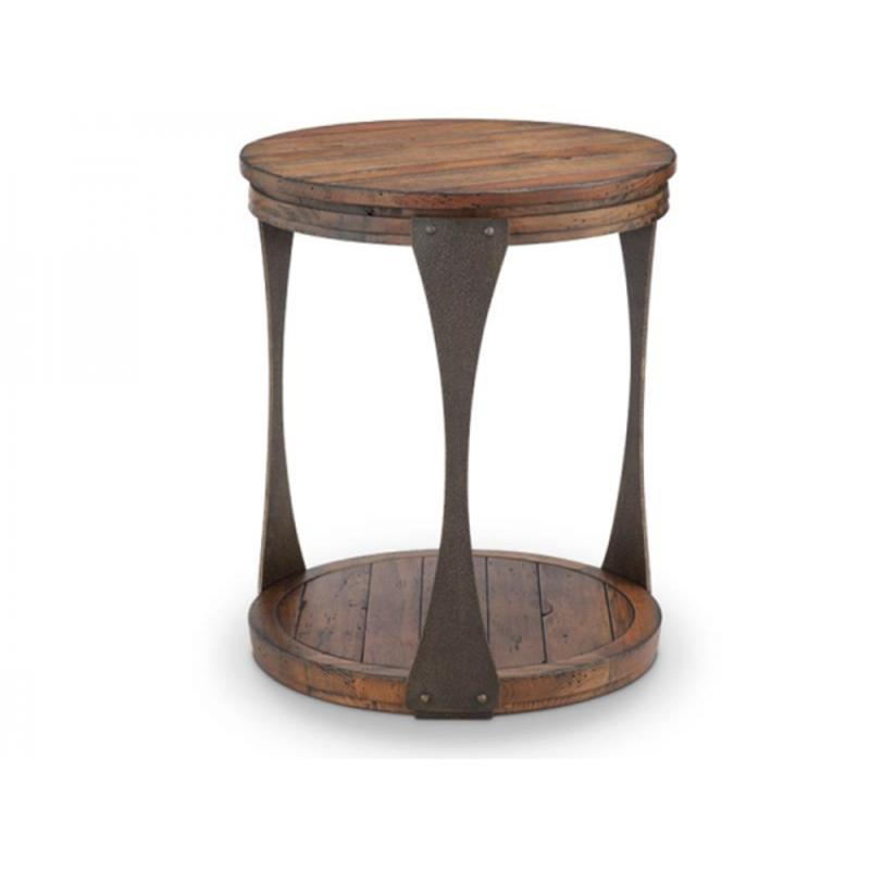T4112 05 Magnussen Home Furniture Montgomery Round End Table