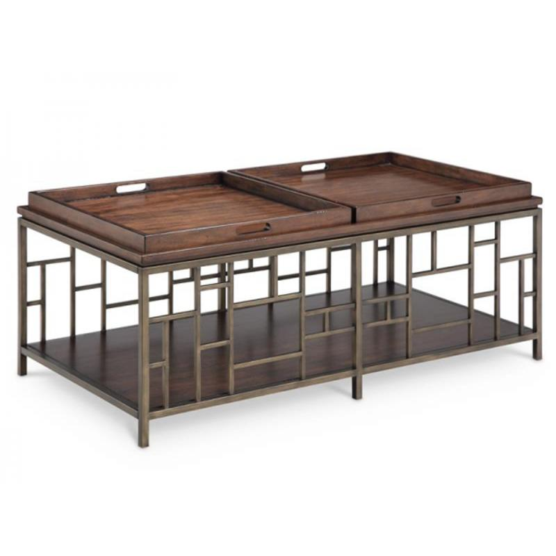 T4290 43 Magnussen Home Furniture Murdock Living Room Cocktail Table