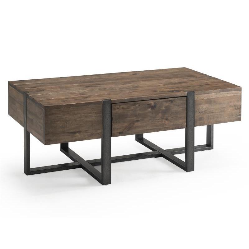 T4344 44 Magnussen Home Furniture Prescott Condo Rectangular Cocktail Table