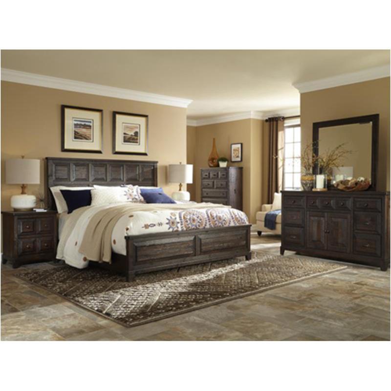 B4057-54h Magnussen Home Furniture Preston Queen Panel Bed