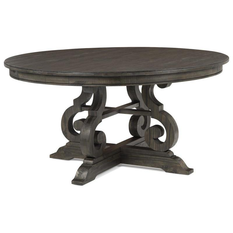 D2491-23t Magnussen Home Furniture Bellamy 60 Inch Round Dining Table