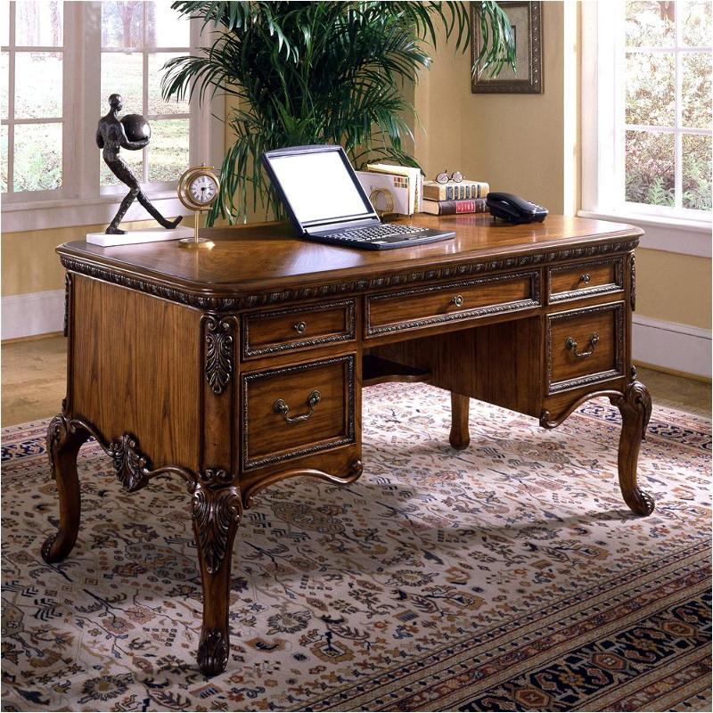 1641 912 Samuel Lawrence Furniture Monaco Home Office Leg Desk