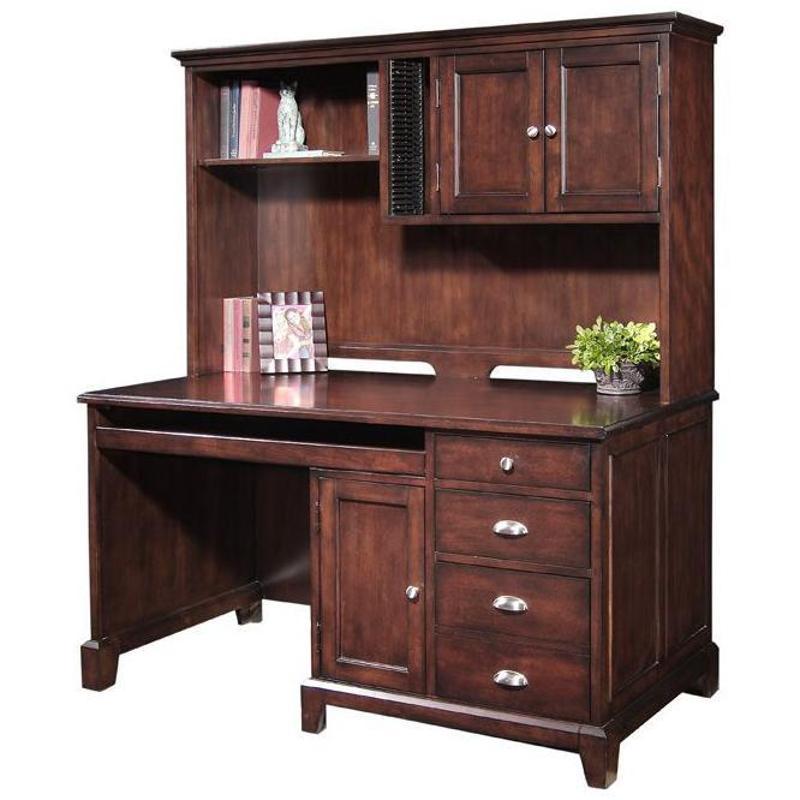 2445 911 Samuel Lawrence Furniture Nova Computer Desk