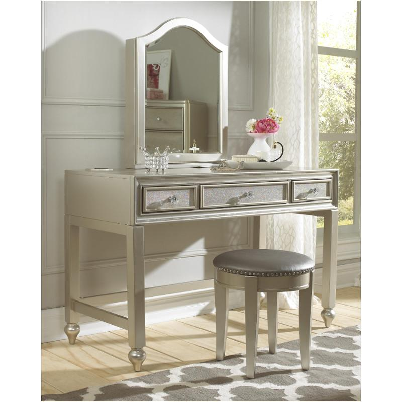 8874 414 Samuel Lawrence Furniture Lil Diva Desk Vanity With Stool