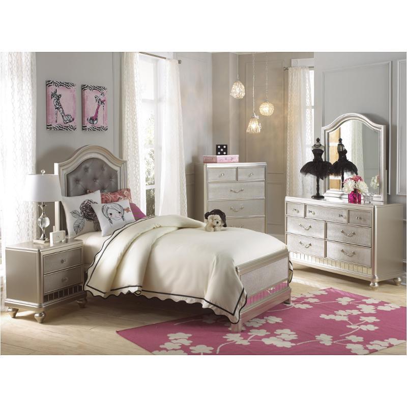 8874 530 Samuel Lawrence Furniture Lil Diva Kids Room Bed