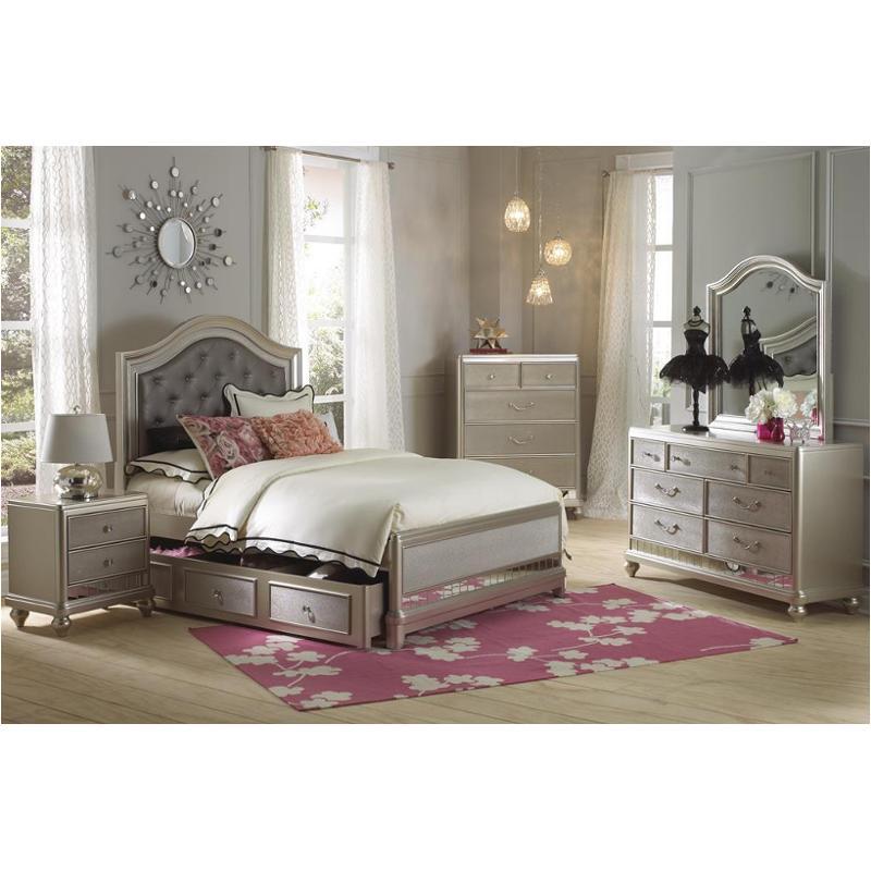 8874 532 Samuel Lawrence Furniture Lil Diva Full Panel Upholstered Bed
