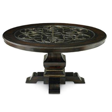 2272-940 Schnadig Furniture Traditions Round Dining Table