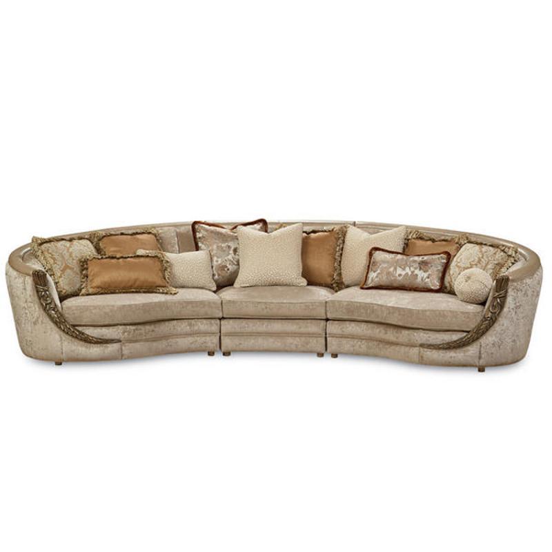 A750 008 A Schnadig Furniture Adella Right Sectional Sofa