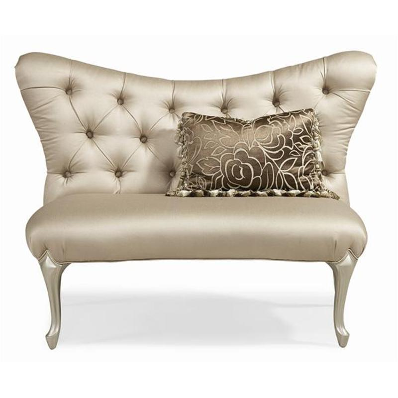 Uph settee 04a schnadig furniture caracole upholstery for Traditional settees living room furniture