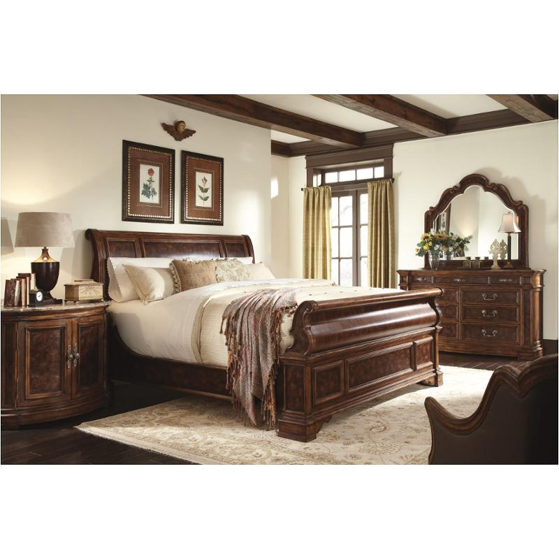 Bedroom Sets Traditional Style 9843-361-ck schnadig furniture majorca california king sleigh bed