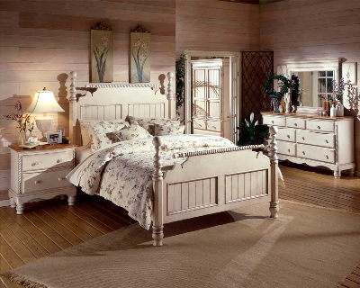 Discount Hillsdale Furniture Wilshire Antique White Collection