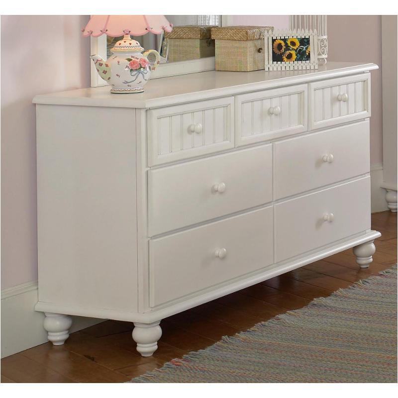 sports shoes fb0b5 3a5da 1354-716 Hillsdale Furniture Westfield - White Dresser - White