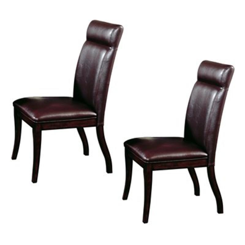 Hillsdale furniture nottingham curved dining side