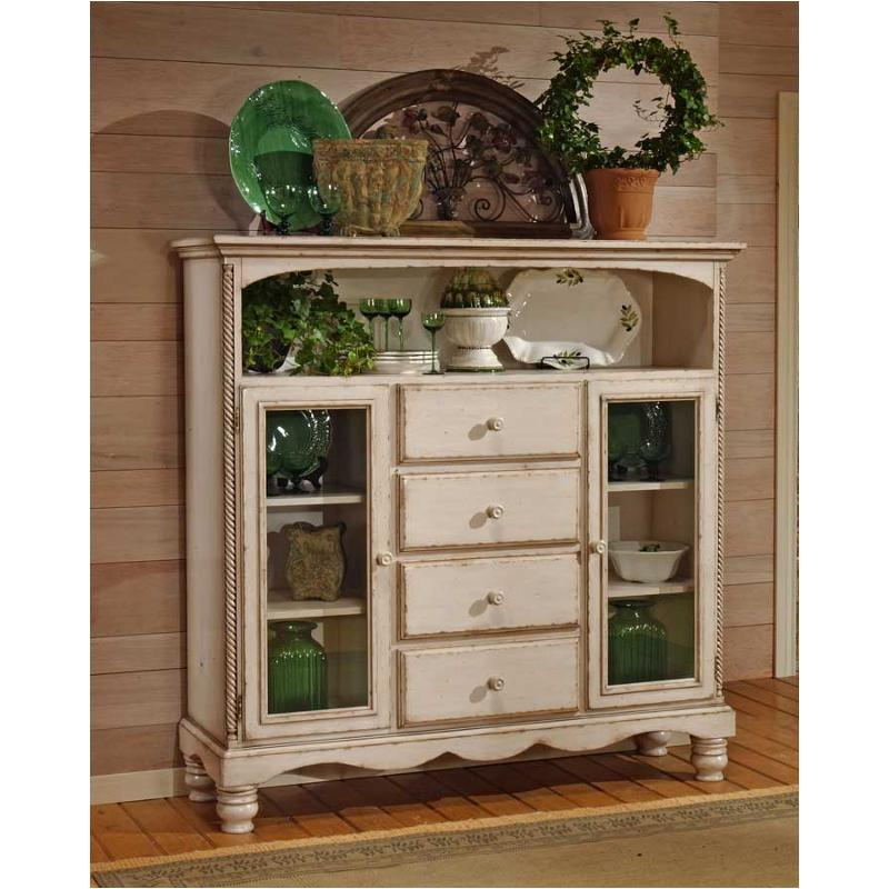 4508-854 Hillsdale Furniture Wilshire - Antique White Bakers Cabinet With 4  Drawers - Antique White - 4508-854 Hillsdale Furniture Wilshire - Antique White Stand