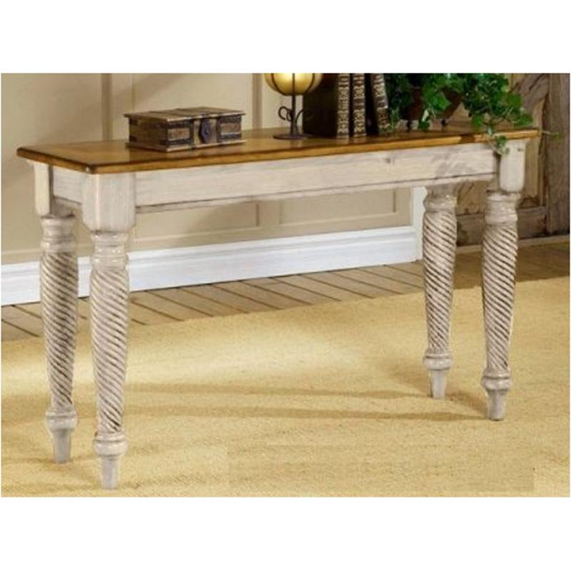 4508-883 Hillsdale Furniture Wilshire - Antique White Sofa Table