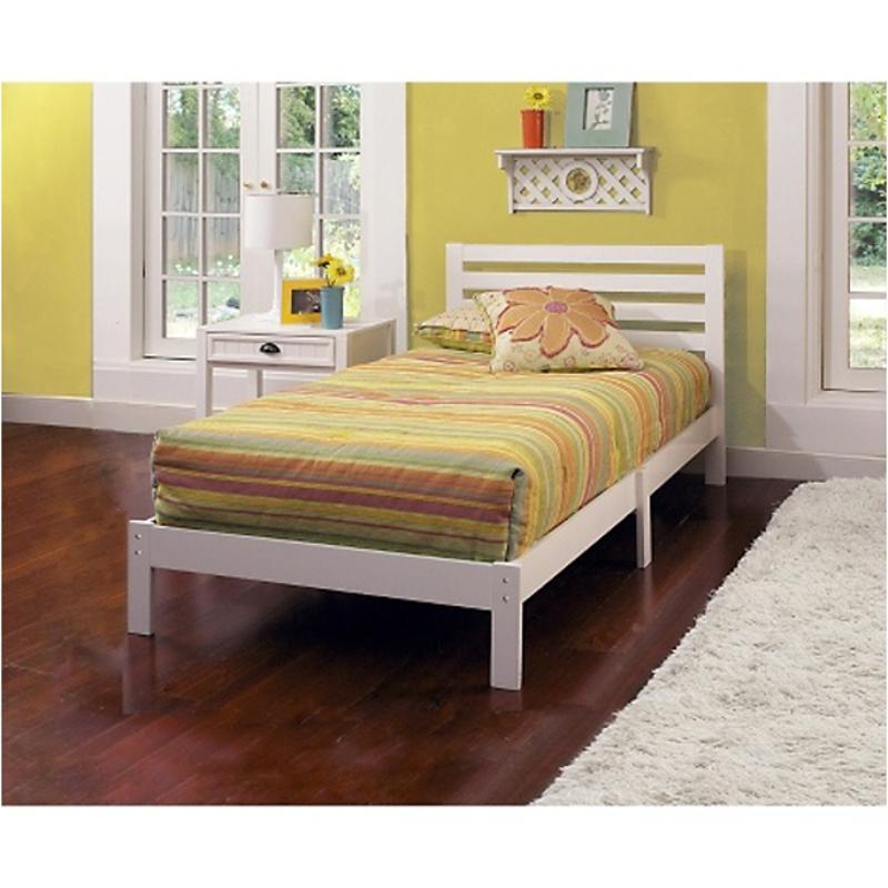 1723 330 Hillsdale Furniture Aiden Twin Bed Set White