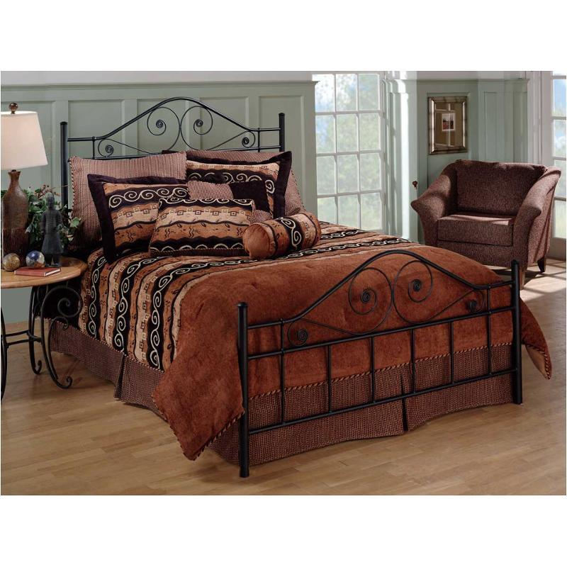 1403 460 Hillsdale Furniture Harrison   Black Bedroom Bed