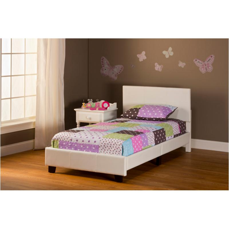 1642 330 Hillsdale Furniture Springfield White Twin Bed In A Box Bed Set White