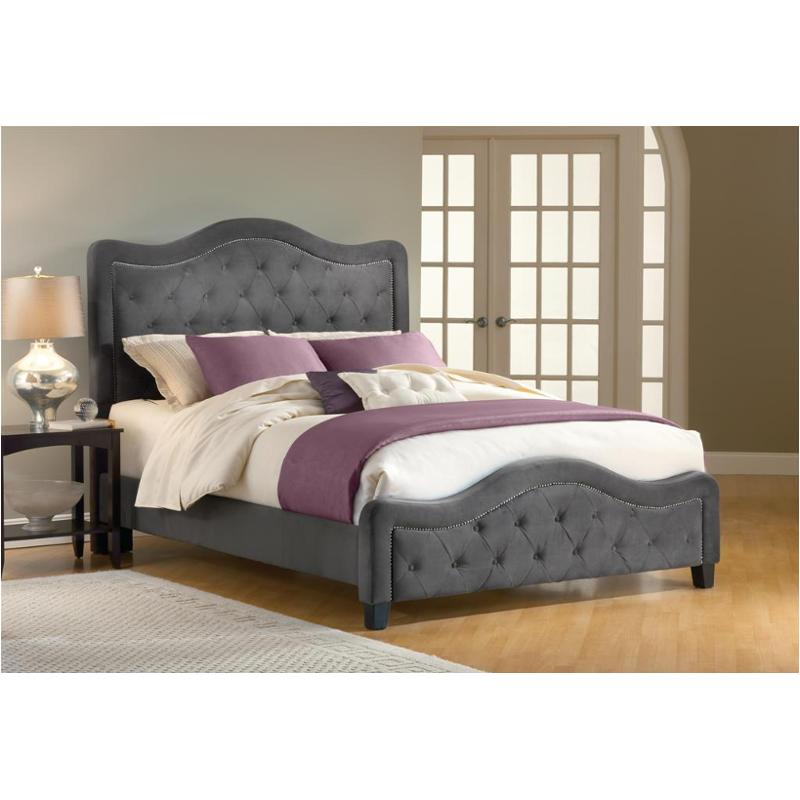 abe8973de048 1638-572 Hillsdale Furniture Trieste - Pewter Bedroom Bed
