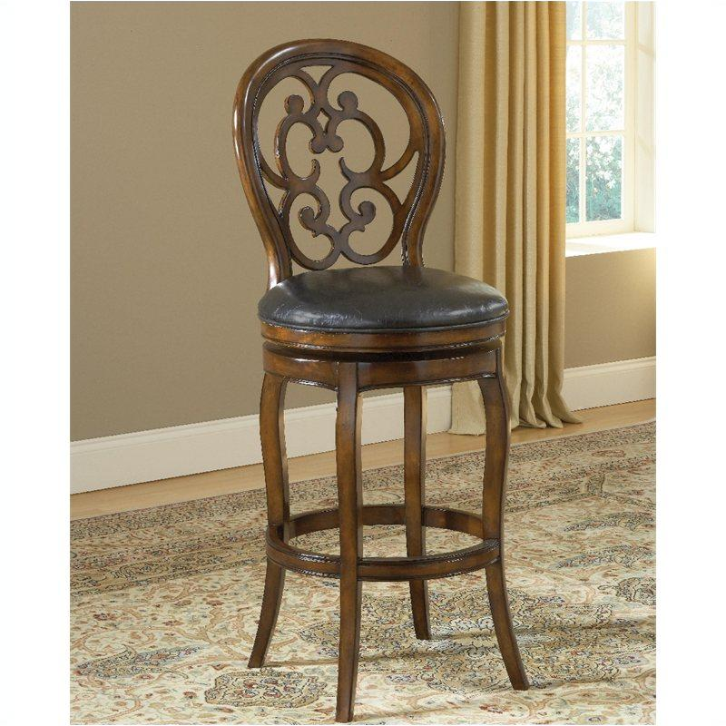 Marvelous 63884 Hillsdale Furniture Alexandra Swivel Counter Stool Short Links Chair Design For Home Short Linksinfo
