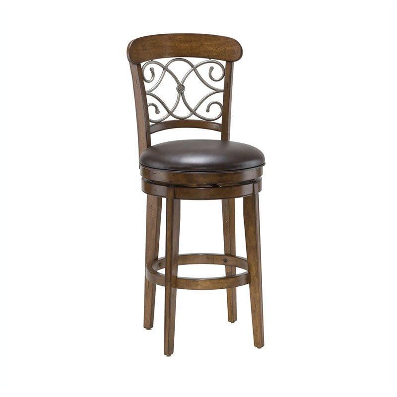 4299 830s Hillsdale Furniture Bergamo Accent Stool