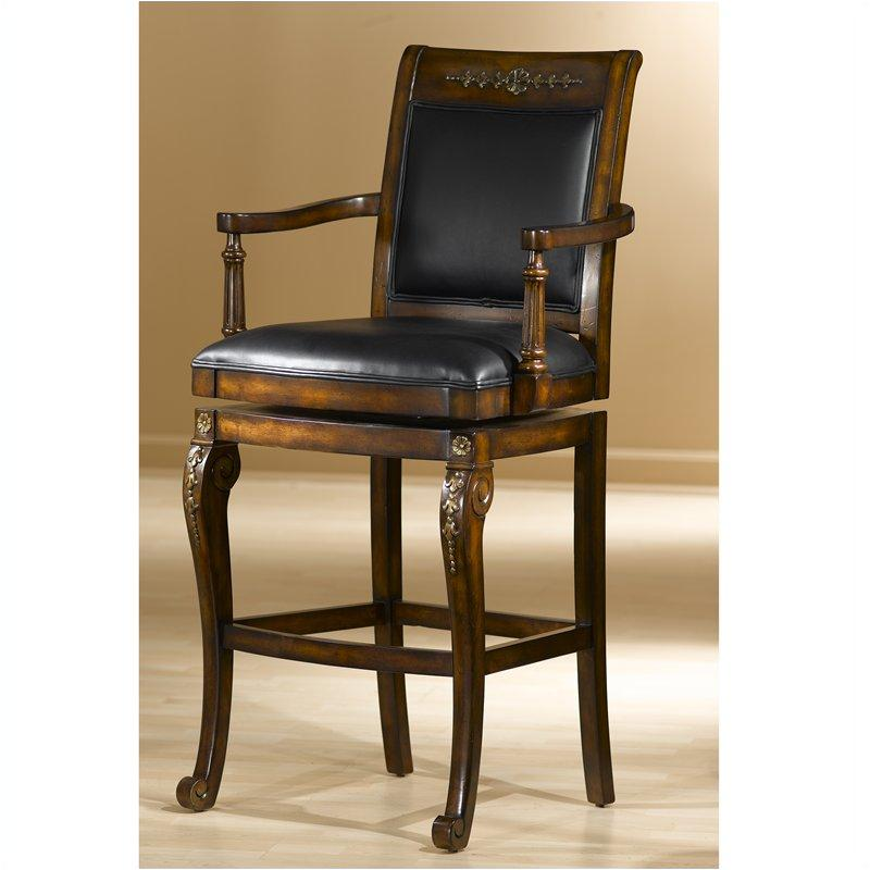 Terrific 61574 Hillsdale Furniture Douglas Swivel Wood Barstool Caraccident5 Cool Chair Designs And Ideas Caraccident5Info
