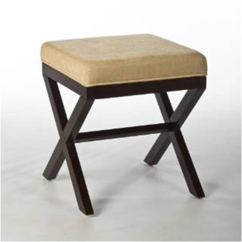 50964 Hillsdale Furniture Morgan Wood Vanity Stool - Espresso
