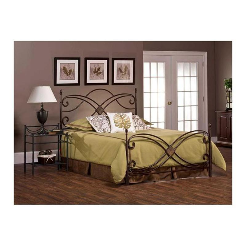 Incroyable 1163 660 Hillsdale Furniture Barcelona   Antique Copper Bedroom Bed