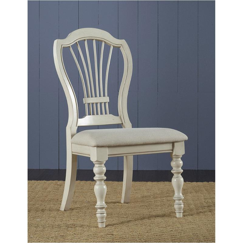 5265 801 Hillsdale Furniture Pine Island   Old White Dining Room Dining  Chair