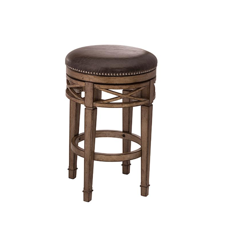 Awe Inspiring 5609 826 Hillsdale Furniture Chesterfield Backless Swivel Counter Stool Caraccident5 Cool Chair Designs And Ideas Caraccident5Info